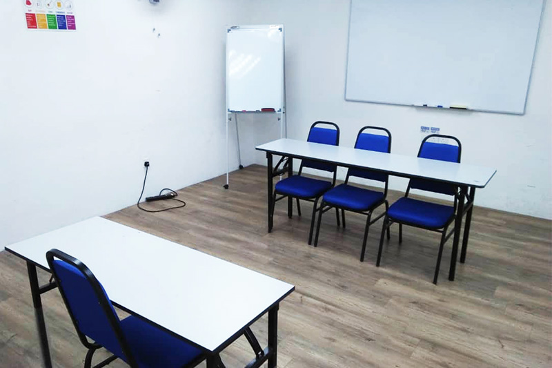 penang interview style training room rental