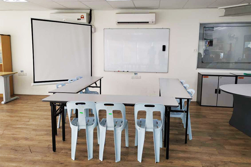 penang u shaped classroom training room rental